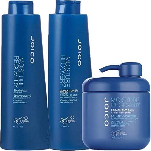 Kit Shampoo Condicionador 1000ml e Máscara 480g Moisture Recovery Joico