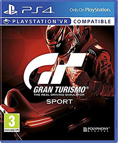 Gran Turismo Sport Spec II PS4 (PSVR Compatible)