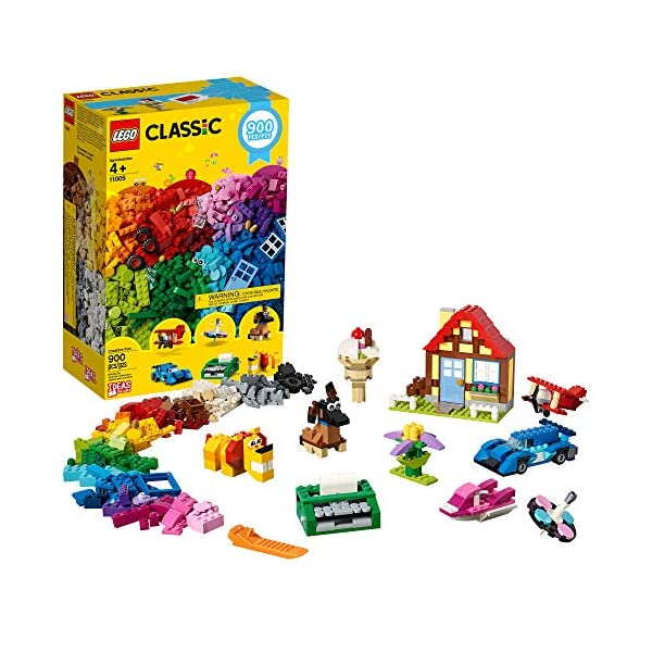 LEGO Classic Creative Fun 11005 Building Kit, New 2020 (900 Pieces)