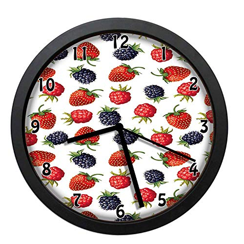 EaYanery Delicious Ripe Berry Print Strawberries Raspberries...