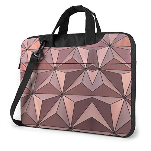 15.6″Durable Hombro Mensajero Bolsa maletín PC Diseño de Arquitectura de Epcot Moda Impermeable Ordenador Portátil/portátil/Tablets