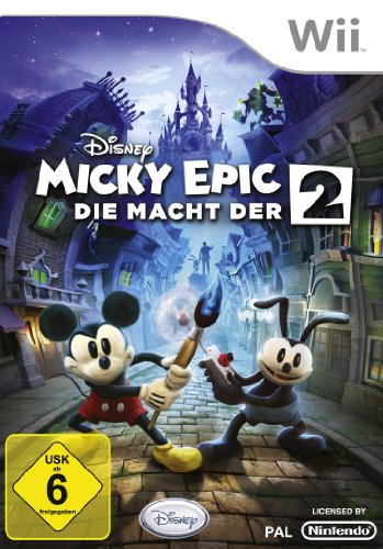 Disney Micky Epic - Die Macht der 2 - [Nintendo Wii]