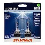 SYLVANIA - H11B SilverStar - High Performance...