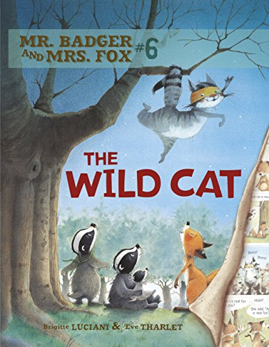 Mr. Badger and Mrs. Fox 6: The Wild Cat (Comic)
