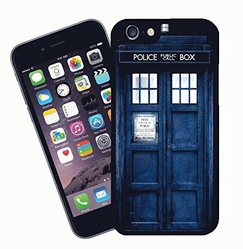 Eclipse Dr Who Tardis Doctor Who Coque iPhone – Ce modèle Compatible avec Apple iPhone 6 – by idées Cadeau