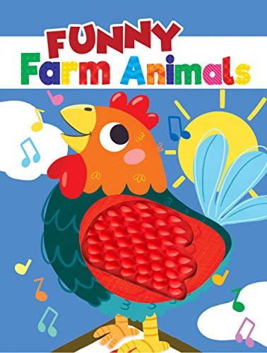 Funny Farm Animals - Silicone Touch and Feel Board Book - Sensory Board Book