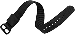 MARATHON Ballistic Nylon Watch Band, Military Grade with Stainless Steel, Non-Magnetic Buckle