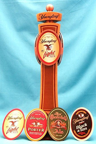 Yuengling Beer Heritage Interchangeable 12in Three Sided Wood Tap Handle