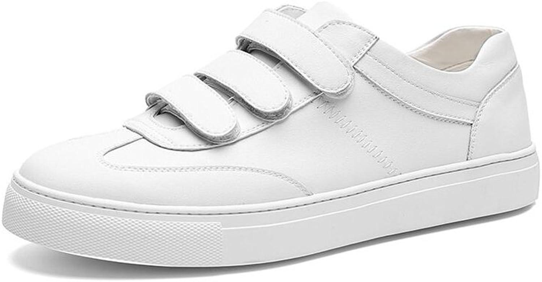 CJC shoes Men's Classic Leather Trainers Fashion (color   T2, Size   EU40 UK7)