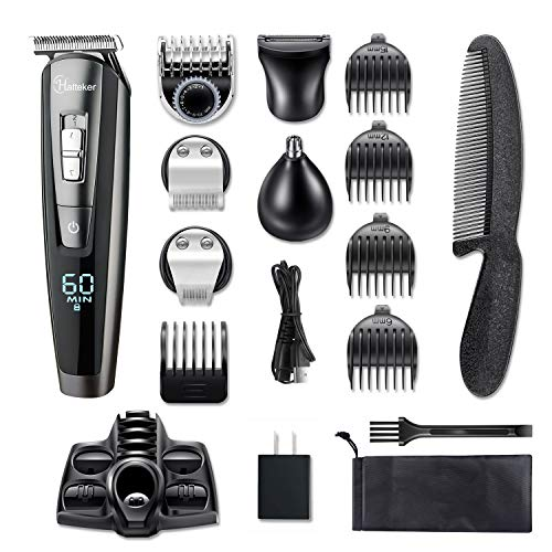 HATTEKER Beard Trimmer Set