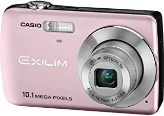 Casio EX-Z33PK 10.1MP Digital Camera with 3x Optical Zoom and 2.5 inch LCD (Light Pink)