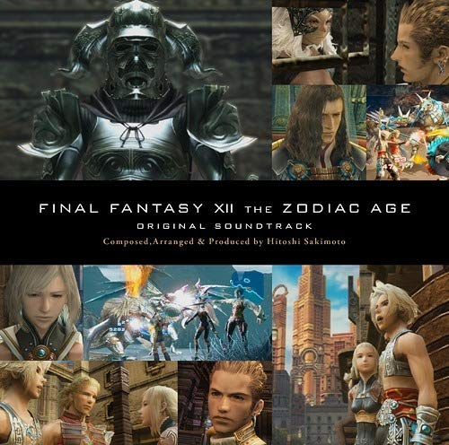 FINAL FANTASY XII THE ZODIAC AGE Original Soundtrack 通常盤【映像付サントラ/Blu-ray Disc Music】