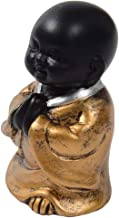 Baoblaze Resin Buddha Statue Little Monk Figurine Ornament Decorations for Meditation - Style03, as described