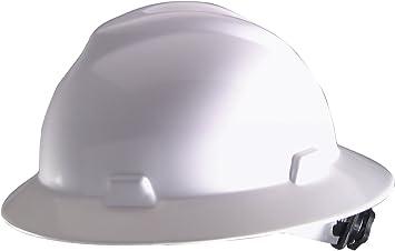Safety works 10006318 full brim hard hat, white