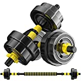 Adjustable Dumbbell Barbell Weight Pair, Adjustable Weights Dumbbells, Plate for Gym Home, Adjustable