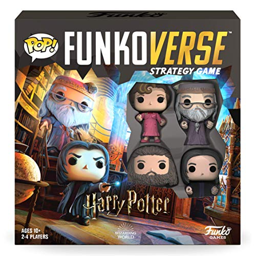 Funkoverse: Harry Potter 102 4-Pack, Multicolor