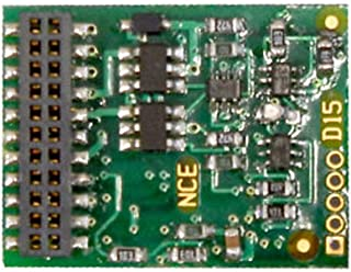 6-FUNCTION DCC CONTROL DECODER -- WITH 21-PIN MTC PLUG