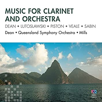 Music For Clarinet And Orchestra