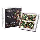 GeoBender - Cubo magnetico 3D 4 x Beam con 104 variaciones - Juguete antiestres de Rompecabezas niño y Adulto - Juegos de Puzzle de educativos y Interactivo - Infintiy Cube de Jugar de Inteligencia