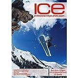 ICE 100 Hojas A4 220 GSM, Doble Cara Brillante/Brillante Papel Fotográfico