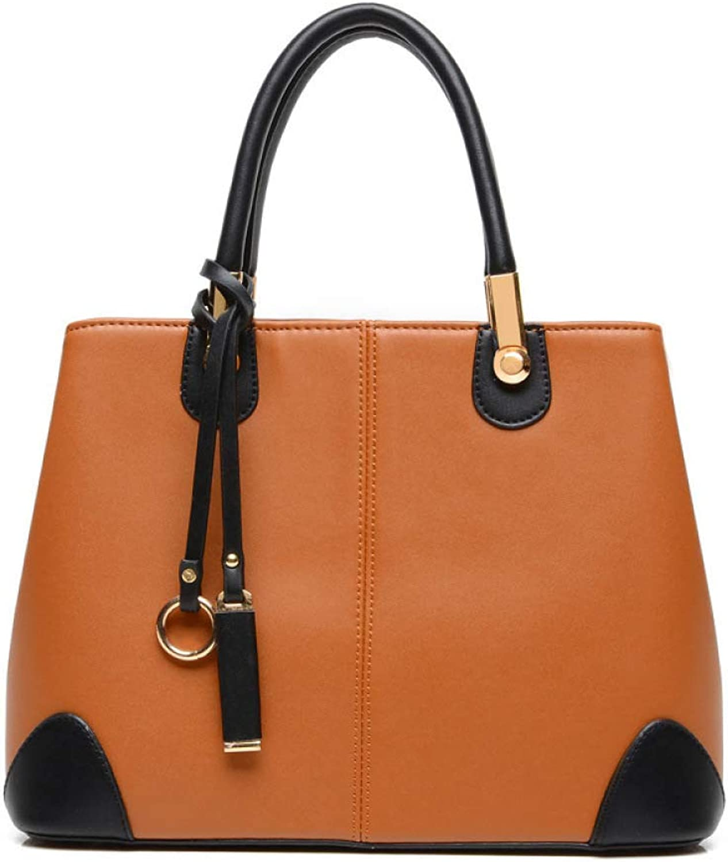 Ladies Handbag Ladies Classic Leather Tote Satchel Crossbody Women Designer Shoulder Bags Messenger Bag Female Bag Handbags (color   I, Size   L)