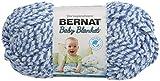 Bernat 161147-47128 Baby Blanket Twists Yarn - Blue Twist