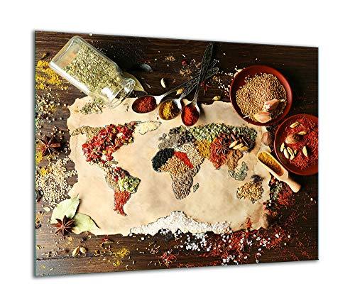 TMK | Placa de cristal para cubrir la cocina de 60 x...