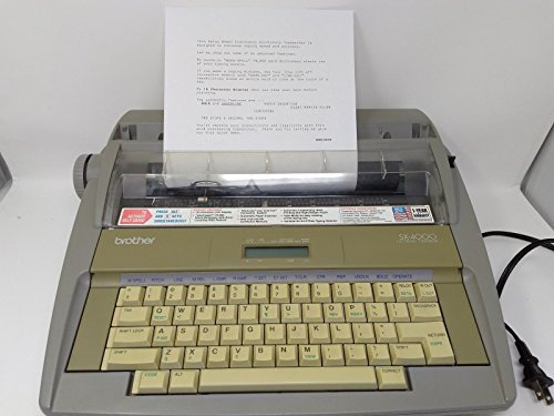 Brother SX-4000 Portable Electronic Typewriter (SX-4000)