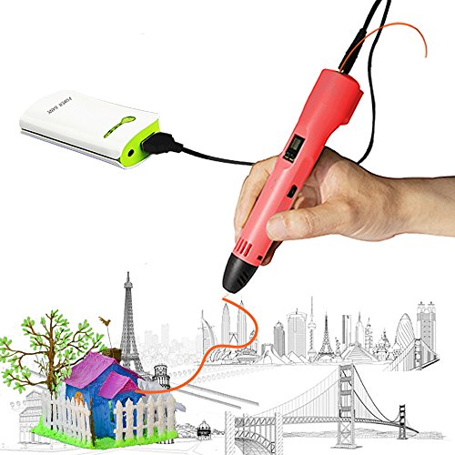 3D Pen for Kids,Newest 3D Printing Pen Compatible ABS PLA Filament, KT-PRASE Portable 3D Printer...