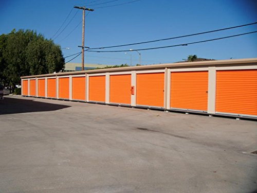 Fantastic Deal! DuroDOORS Janus 9'x8' Self Storage 750 Series Wind Rated Steel Roll-Up Door