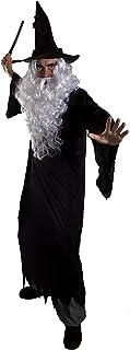 Robe fantaisie assistant kit noir perruque lunettes baguette et cravate École Livre Semaine Costume