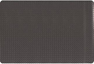 product image for Apache Mills MOI3926709002X3 - Diamond Plate Anti-Fatigue Mat - Dry, Solid Surface, Thickness: 15/16 in, Width: 2 ft, Length: 3 ft, Color Black