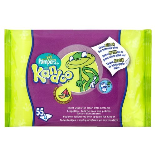 Kandoo Wipes Melon 6 x 55 pro Packung
