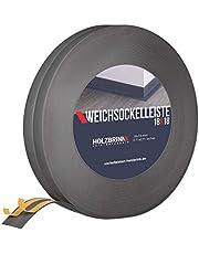 HOLZBRINK Zachte plint zelfklevend, kniklijst van PVC, 18x18mm
