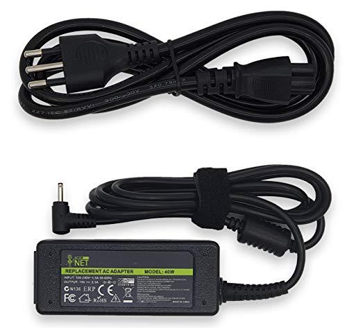 Netzteil Ladegerät Ladekabel für Asus Eee PC 1005HA | 1005HA _ GG | 1005| 1101ha| EXA0901X H | 90-XB02OAPW00100Q | EXA1004EH | ADP-40PH AB mit 40W 19V 2.10A D.C. EXT: 2.5mm–Int: 0.7mm