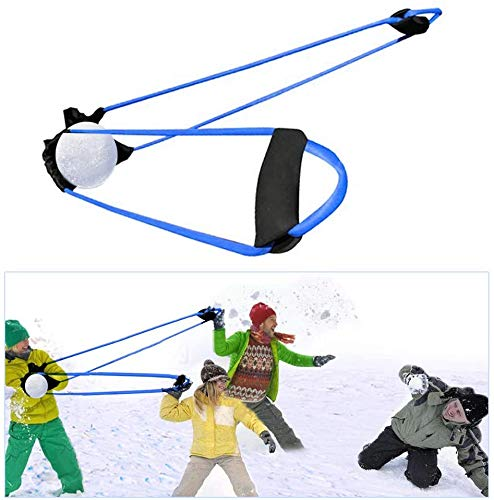 TOPGRADE Water Balloon Slingshot - Fun Outdoor Catapult Game for Water Play and Snowball Fights
