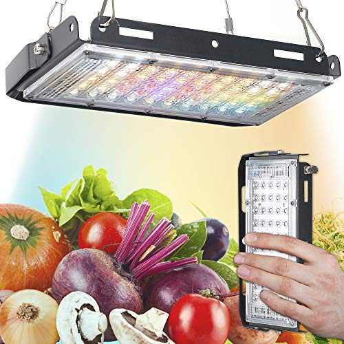 ECRU LED Grow Lights for Indoor Plants Full Spectrum - 150W Equivalent Grow Lights for Clones, Vegetation, and Flowering - Includes Natural Solar White LED Diode