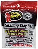 Quickly and easily removes surface contaminants such as paint over-spray, rail head dust, industrial fallout, bugs, tar, etc. Safe for use on paint, chrome, glass and fiberglass Medium grade (Red) removes moderate to heavy contaminants
