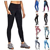 Yoga Pants Sports Gym High Waist Leggings Womens Fitness Workout Athleisure Tights Power Stretch Trousers