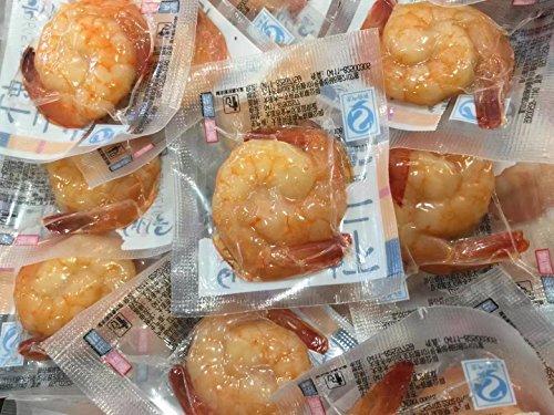 Vakuum verpackt Garnelen Fleisch Snack 600 Gramm aus China Sea