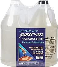Environmental Tech EnviroTex Pour-On High Gloss Finish gallon kit