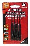 4-piece Triangle Mini Screwdrivers Set 59114