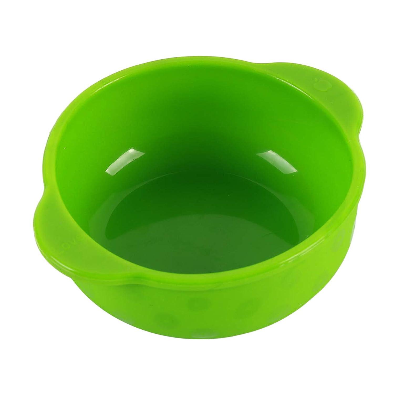 ZALINGベビーシリコンボウルプレート子供用トレーニングボウル食器セット給餌カップ用品グリーン