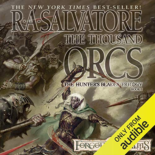 Page de couverture de The Thousand Orcs