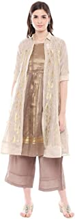 W for Woman Women's cotton straight Salwar Suit Set