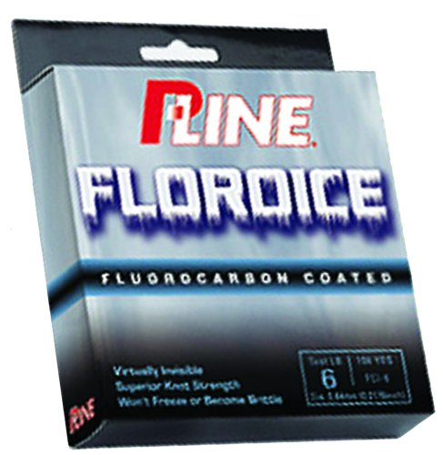 P-Line Floroice Fishing Spool (100 Yard, 4-Pound)