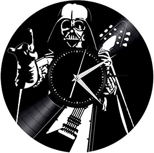 WTTA Disco de Vinilo Reloj de Pared música Rock Creativa Tocar Guitarra...