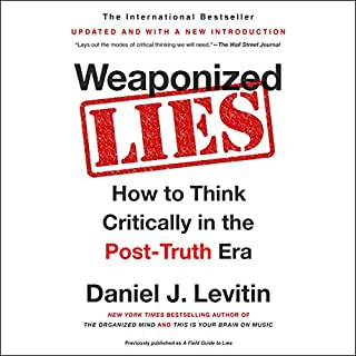 Weaponized Lies audiobook cover art