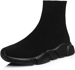 Uniseks Mode Sneakers Slip-On Sportschoen Elastische Sokken Schoenen Lichtgewicht Mesh Schoenen Platform