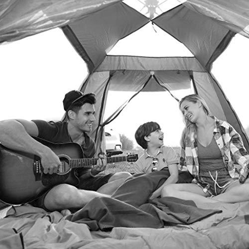 MJY Zelt Außenzelt Automatische Zelt Verdickung Regen 2-4 Personen Strand Camping Zelt Multi-Color Optional,Blau,215 * 215 * 142 cm